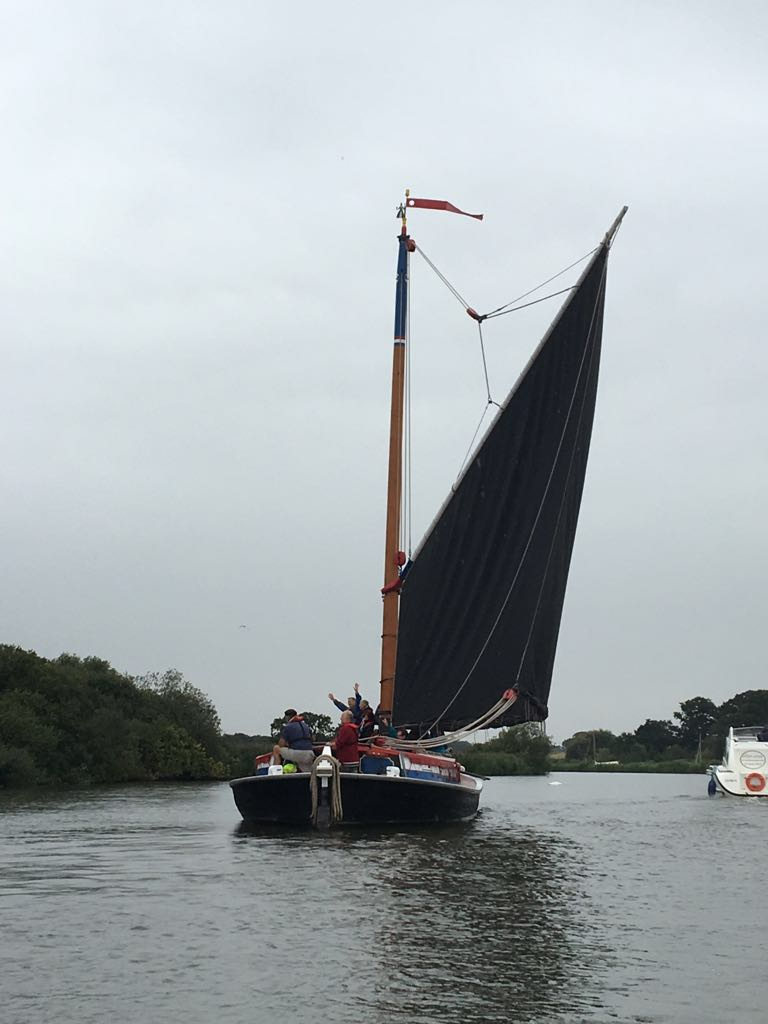 Sailing On The Norfolk Broads With Hunters Yard