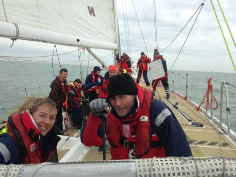 lesson onboard clipper race training